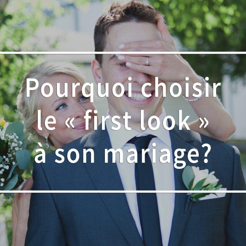 Pourquoi choisir le first look à son mariage? Qu'est-ce que le first look? Photographe de mariage à Montréal