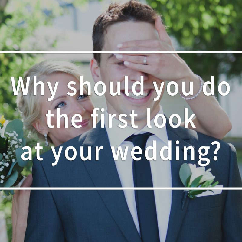 Why should you do the first look at your wedding? What is the wedding first look? Montreal wedding photographer