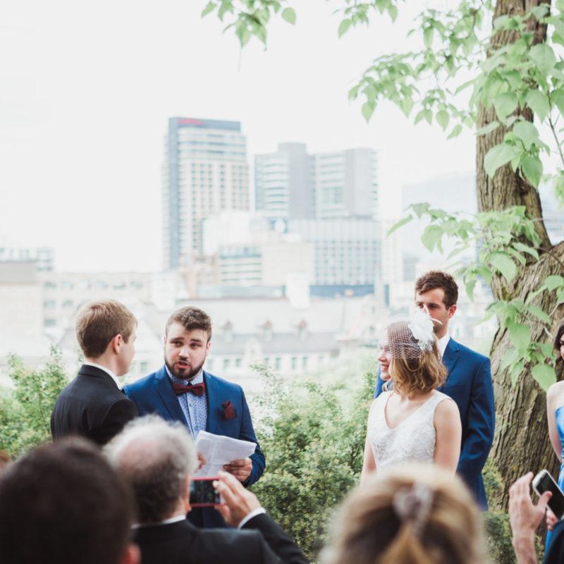 Downtown Montreal LGBT transgender wedding on McGill University campus Thomson House Birks Heritage Chapel. Julie et Shaun mariage intime LGBT transgenre au centre-ville de Montréal campus Université McGill Thomson House |Lisa-Marie Savard Photographie |Montréal, Québec |www.lisamariesavard.com