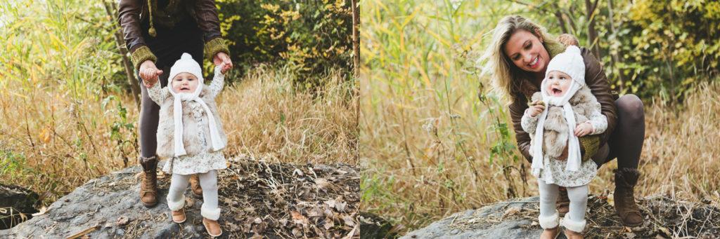 Fall family maternity photos in a park. Fall mini session idea. Fall photos colourful trees leaves. Family photo ideas. Mini séances d'automne à Montréal photographe famille enfant maternité à Montréal Parc Angrignon Verdun LaSalle |Lisa-Marie Savard Photographie |Montréal, Québec