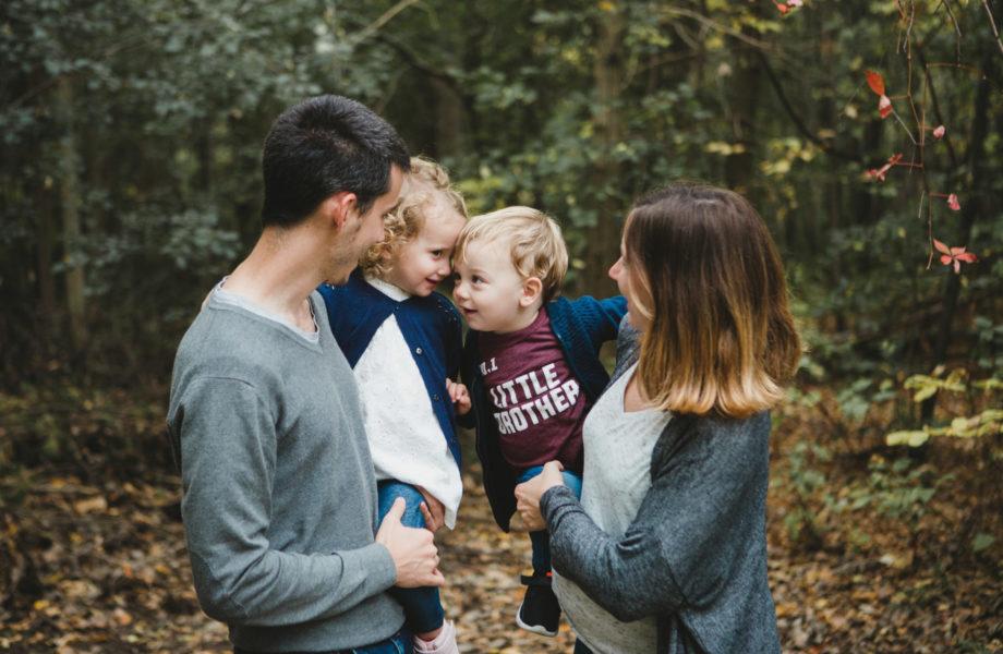 Fall family photos. Mini séance d'automne à Montréal fall mini sessions.
