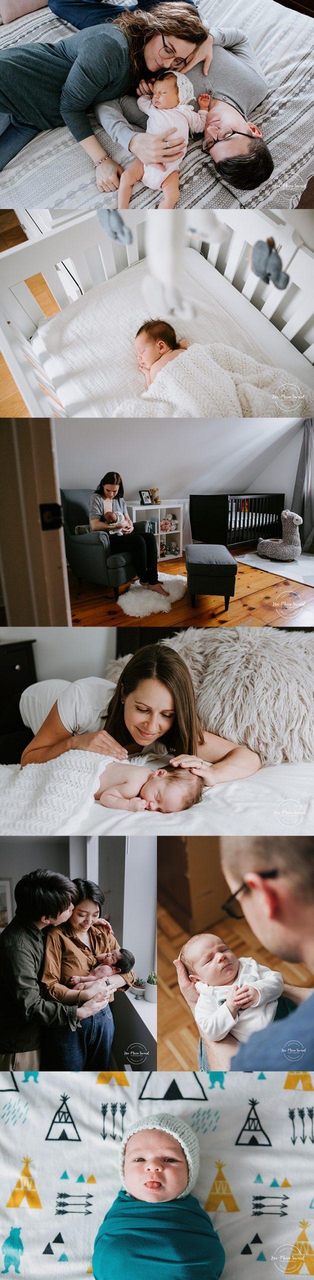 En studio ou à domicile? Comment choisir la séance nouveau-né qui correspond à vos besoins. Photographe de nouveau-né à domicile à Montréal. Séance nouveau-né à domicile à Montréal. Montreal in-home newborn photographer. Montreal in-home newborn session.