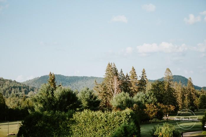 Mariage à Sainte-Agathe-des-Monts. Mariage an golf de Val-Morin. Photographe de mariage dans les Laurentides. Laurentians wedding photographer.