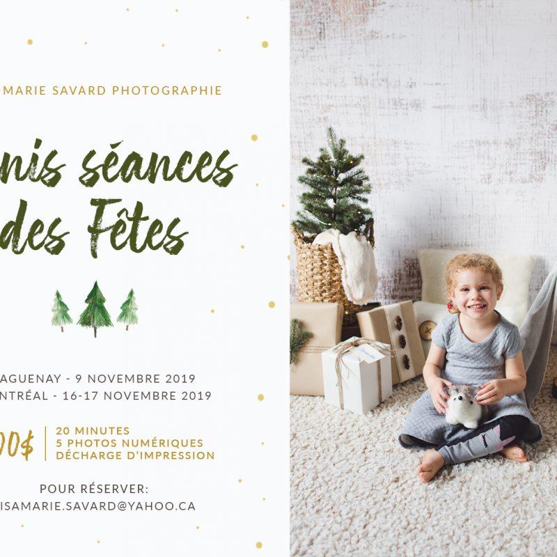 Minis séances des Fêtes pour enfants 2019. Photos de Noël en studio pour enfants à Montréal 2019. Montreal Christmas mini sessions 2019. Montreal Holiday minis 2019