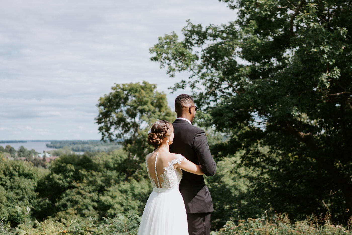 Photographe de mariage à Montréal. Photographe de mariage Outaouais. Mariage au Château Montebello. Fairmont Le Chateau Montebello wedding. Montreal wedding photographer. Ottawa wedding photographer