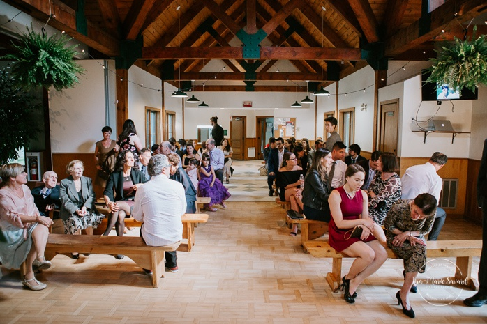 Intimate summer camp LGBTQ+ wedding. Same sex wedding. Mariage LGBTQ+ à Montréal. Montreal LGBTQ+ wedding.