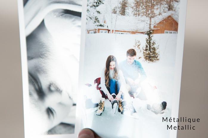 Choosing photo paper for photography printing. Which paper finish is best? Glossy luster matte or metallic. Quel papier photo choisir? Comment choisir son papier photo? Glacé, lustré, mat ou métallique.