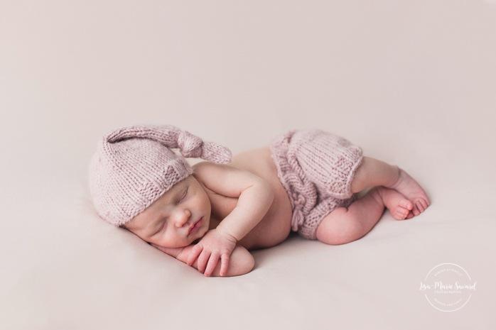 Photographe de nouveau-né à Montréal. Séance nouveau-né en studio à Montréal. Photos de bébé à Montréal. Montreal newborn photographer. Montreal in-studio newborn session. Montreal baby photos.