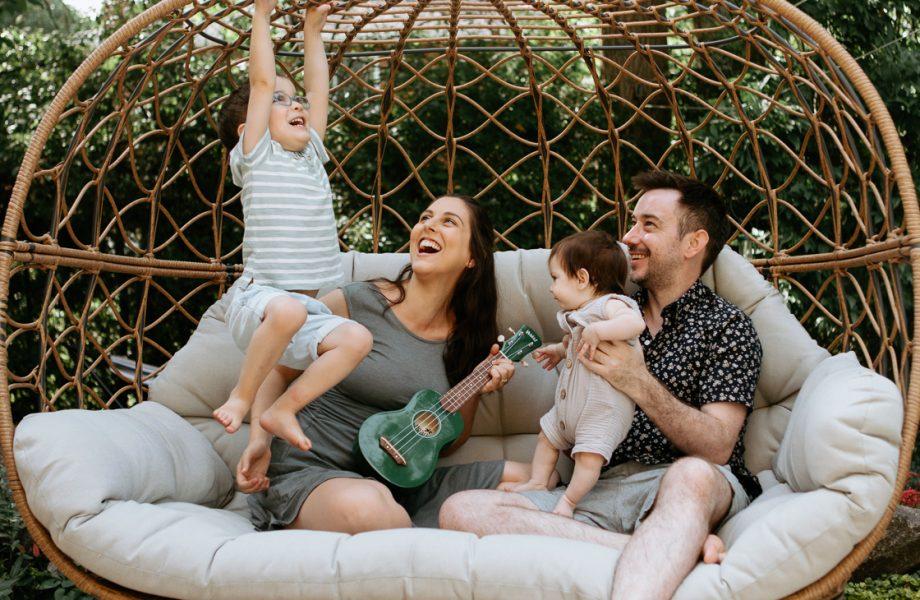 Famille Oren – Photographe de famille à Mont-Royal