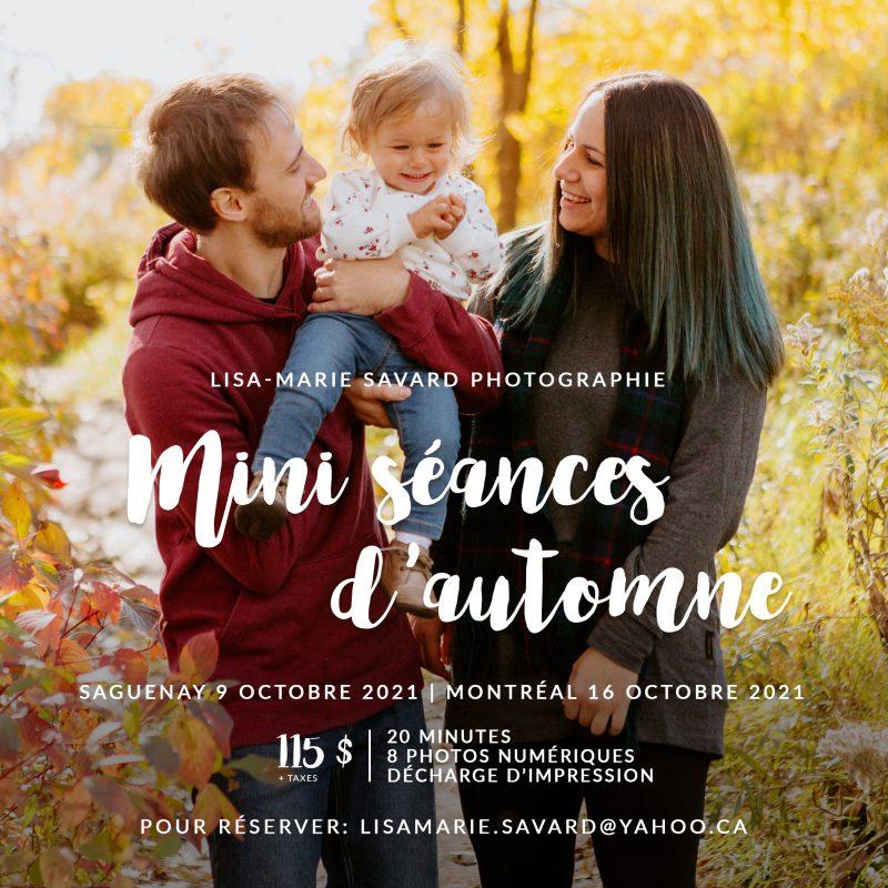 Mini séance d'automne 2021. Photographe de famille à Montréal. Montreal family photographer. Photographe de famille au Saguenay. Saguenay family photographer.