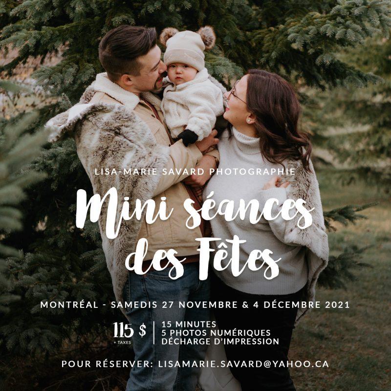 Mini séances des Fêtes à Montréal. Séance photo de Noël à Montréal. Montreal Holiday mini sessions. Montreal Christmas mini sessions.